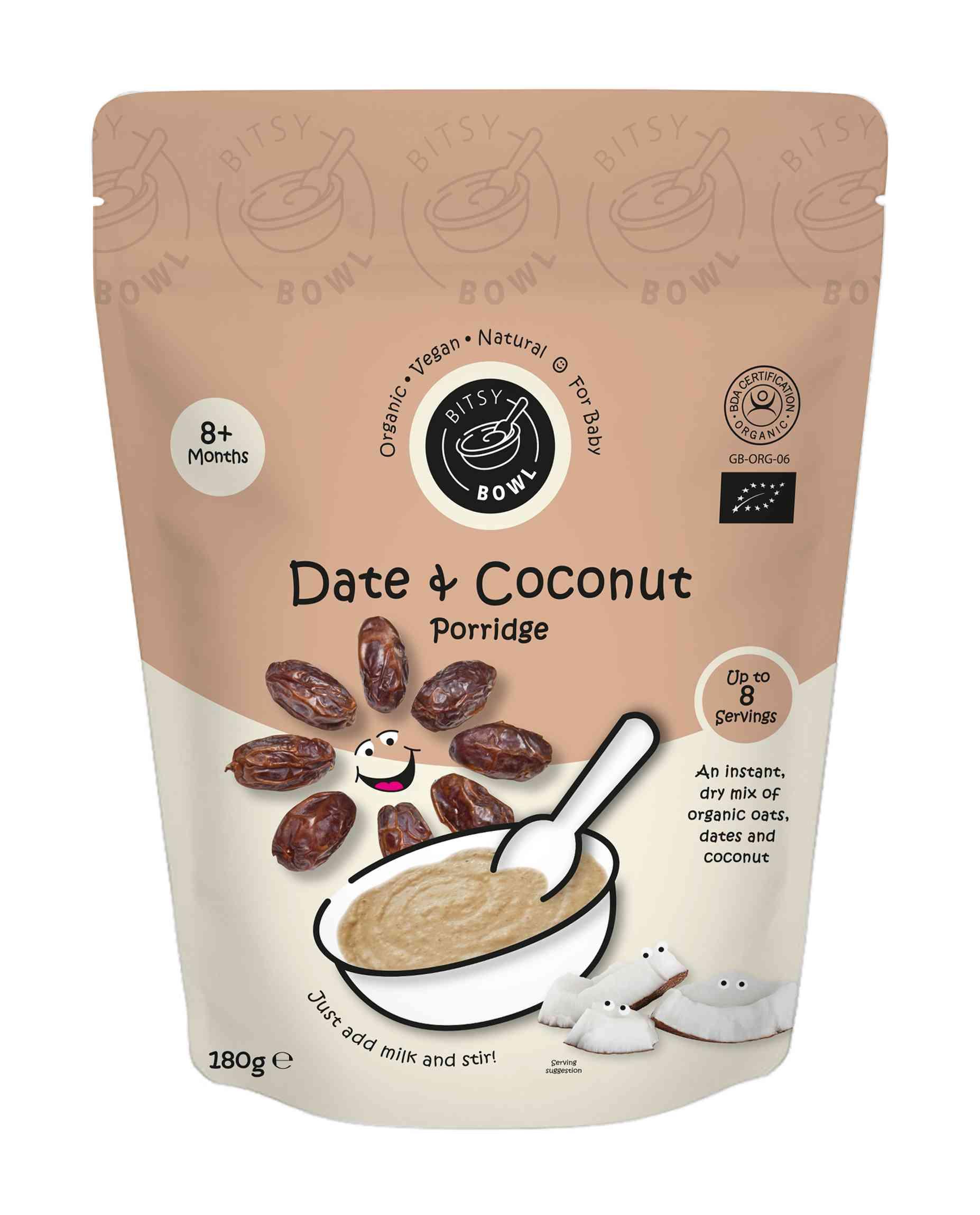 Organic Date & Coconut Porridge